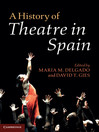 A History of Theatre in Spain (eBook)