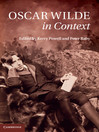 Oscar Wilde in Context (eBook)