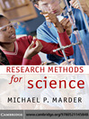 Research Methods for Science (eBook)
