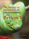 Numerical Methods in Engineering with Python 3 (eBook)