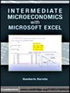 Intermediate Microeconomics with Microsoft Excel (eBook)
