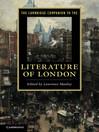 The Cambridge Companion to the Literature of London (eBook)