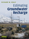 Estimating Groundwater Recharge (eBook)