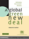 A Global Green New Deal (eBook): Rethinking the Economic Recovery