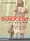 The Importance of Being Innocent (eBook)