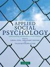 Applied Social Psychology (eBook)