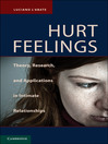 Hurt Feelings (eBook): Theory, Research, and Applications in Intimate Relationships