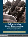 Culture under Cross-Examination (eBook)