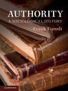 Authority (eBook): A Sociological History