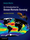 An Introduction to Ocean Remote Sensing (eBook)