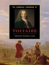 The Cambridge Companion to Voltaire (eBook)