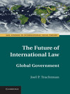 The Future of International Law (eBook)