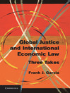 Global Justice and International Economic Law (eBook)