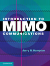 Introduction to MIMO Communications (eBook)