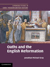 Oaths and the English Reformation (eBook)