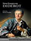 New Essays on Diderot (eBook)