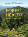 Forest Health (eBook): An Integrated Perspective