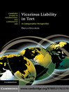 Vicarious Liability in Tort (eBook)
