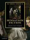 The Cambridge Companion to Sensation Fiction (eBook)