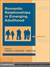 Romantic Relationships in Emerging Adulthood (eBook)
