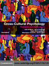 Cross-Cultural Psychology (eBook)