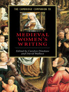The Cambridge Companion to Medieval Women's Writing (eBook)