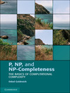 P, NP, and NP-Completeness (eBook)