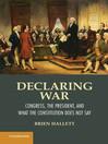 Declaring War (eBook)