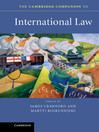 The Cambridge Companion to International Law (eBook)