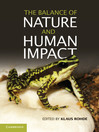 The Balance of Nature and Human Impact (eBook)