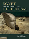 Egypt and the Limits of Hellenism (eBook)