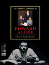 The Cambridge Companion to Edward Albee (eBook)