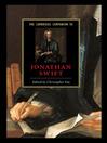 The Cambridge Companion to Jonathan Swift (eBook)