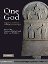 One God (eBook): Pagan Monotheism in the Roman Empire