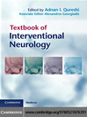 Textbook of Interventional Neurology (eBook)