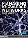 Managing Knowledge Networks (eBook)