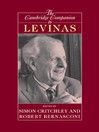 The Cambridge Companion to Levinas (eBook)