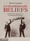Extraordinary Beliefs (eBook)