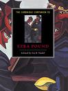 The Cambridge Companion to Ezra Pound (eBook)