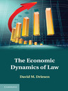 The Economic Dynamics of Law (eBook)