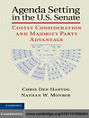 Agenda Setting in the U.S. Senate (eBook): Costly Consideration and Majority Party Advantage