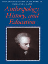 Anthropology, History, and Education (eBook)