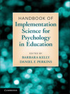 Handbook of Implementation Science for Psychology in Education (eBook)