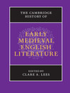 The Cambridge History of Early Medieval English Literature (eBook)