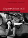 Lying and Christian Ethics (eBook)