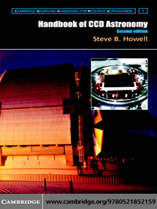 Handbook of CCD Astronomy (eBook): Cambridge Observing Handbooks for Research Astronomers Series, Book 5