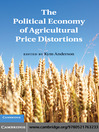 The Political Economy of Agricultural Price Distortions (eBook)