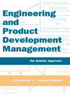 Engineering and Product Development Management (eBook): The Holistic Approach