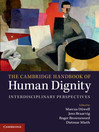The Cambridge Handbook of Human Dignity (eBook): Interdisciplinary Perspectives