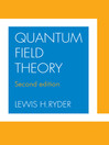 Quantum Field Theory (eBook)